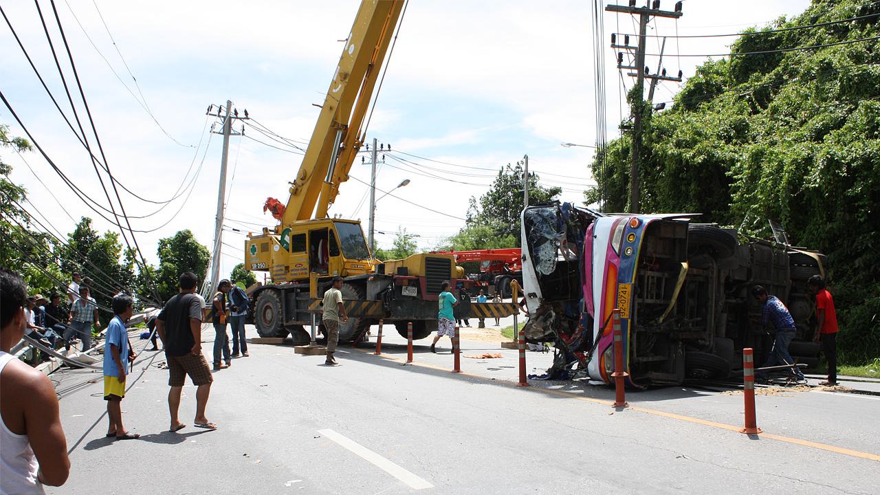 Verkehrsunfall Phuket