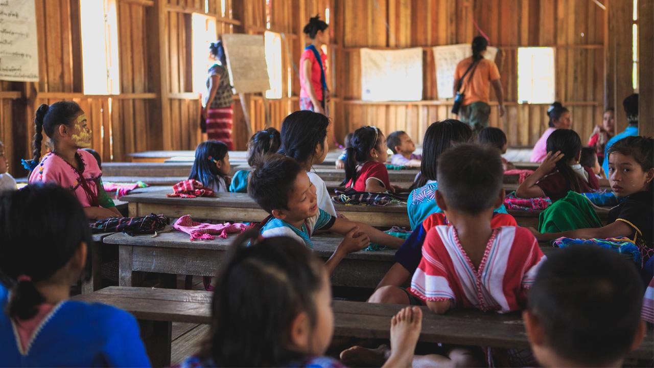 Schule in Myanmar