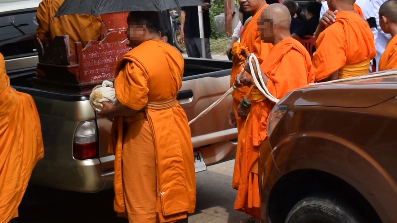 Buddhist Monks, Thailand